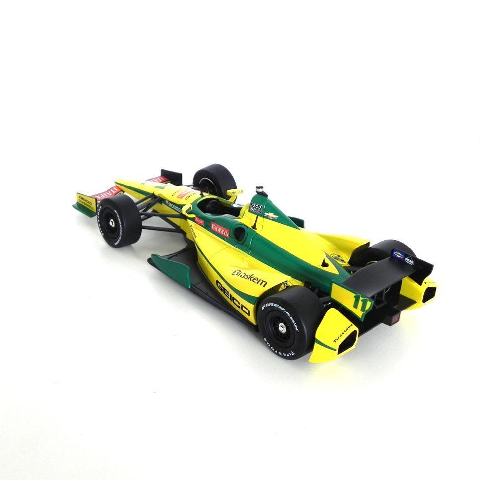 Miniatura Dallara Izod S Kv Racing Tony Kanaan 2012 1/18 Greenlight