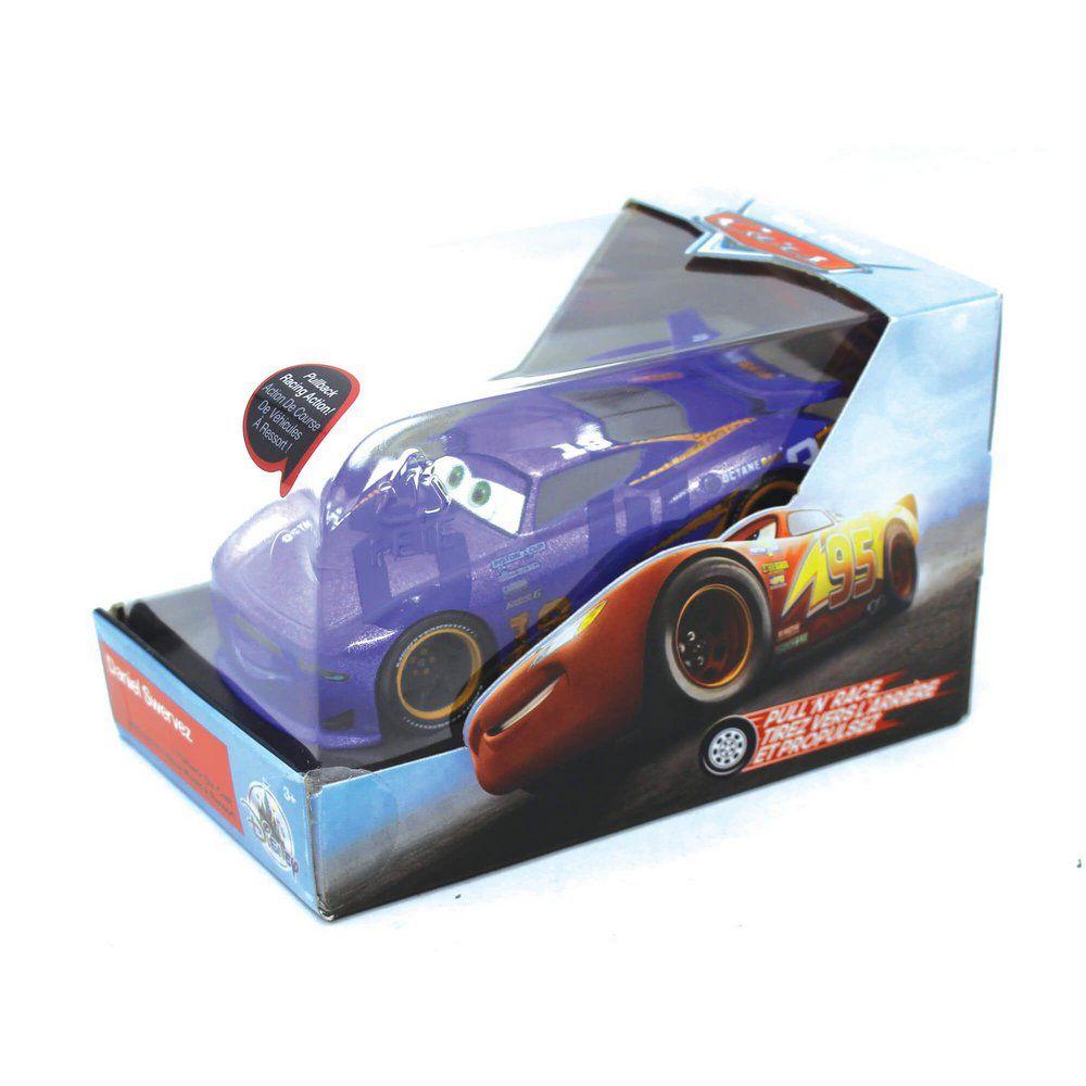 Miniatura Daniel Swervez Disney Pixar Carros 1/43 Com Fricção