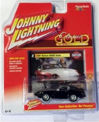 Miniatura Datsun 208ZX Turbo 1981 1/64 Johnny Lightning