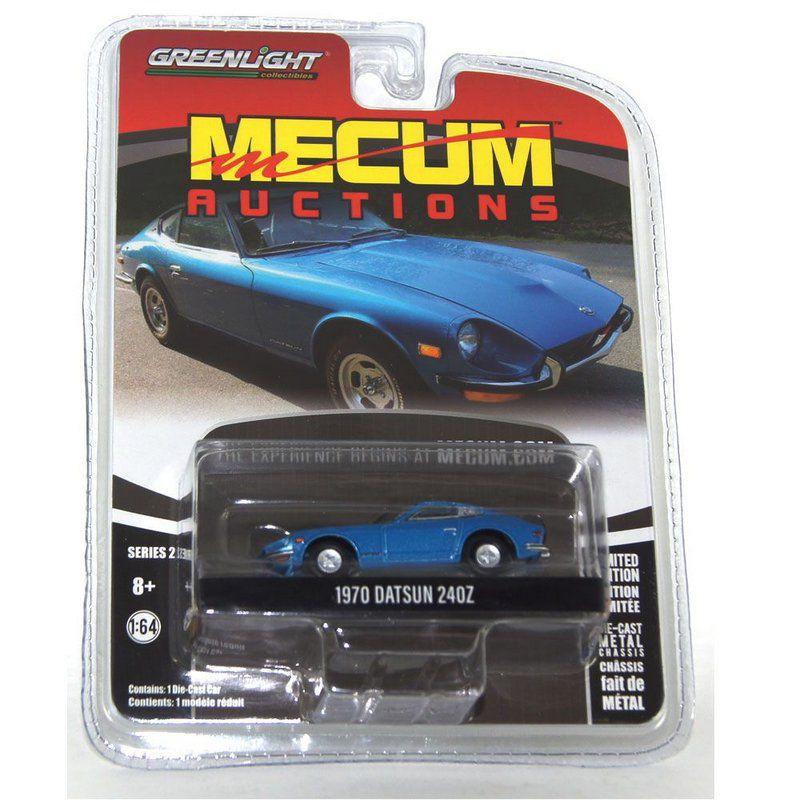 Miniatura Datsun 240Z 1970 Mecum Auctions 1/64 Greenlight