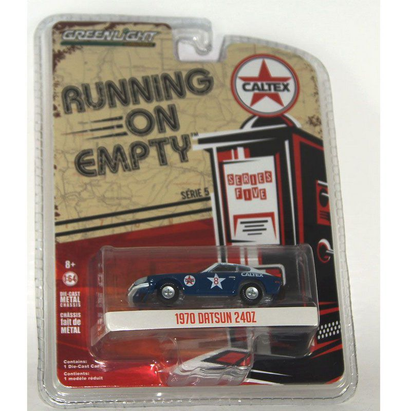 Miniatura Datsun 240Z 1970 Running on Empty 1/64 Greenlight