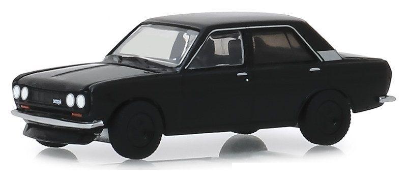 Miniatura Datsun 510 1970 Black Bandit 1/64 Greenlight
