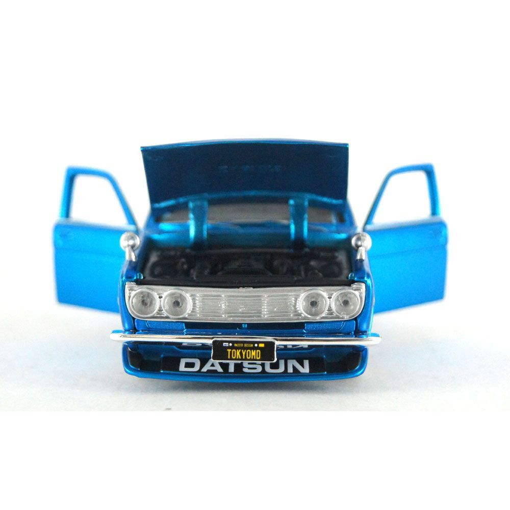 Miniatura Datsun 510 1971 Tokyo Mod Design 1/24 Maisto