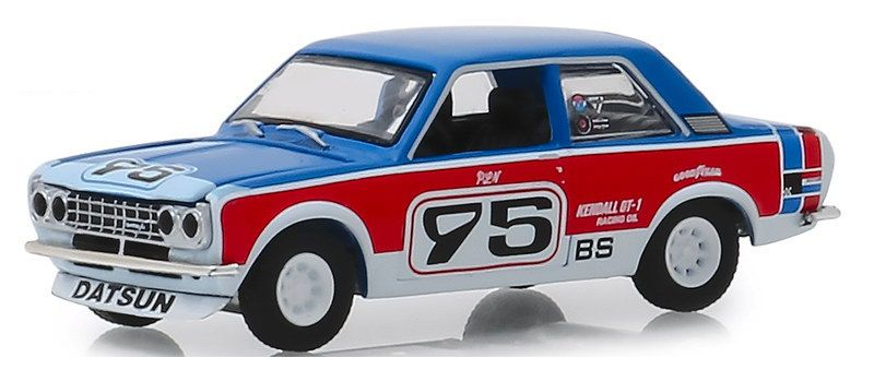 Miniatura Datsun 510 1973 1/64 Greenlight