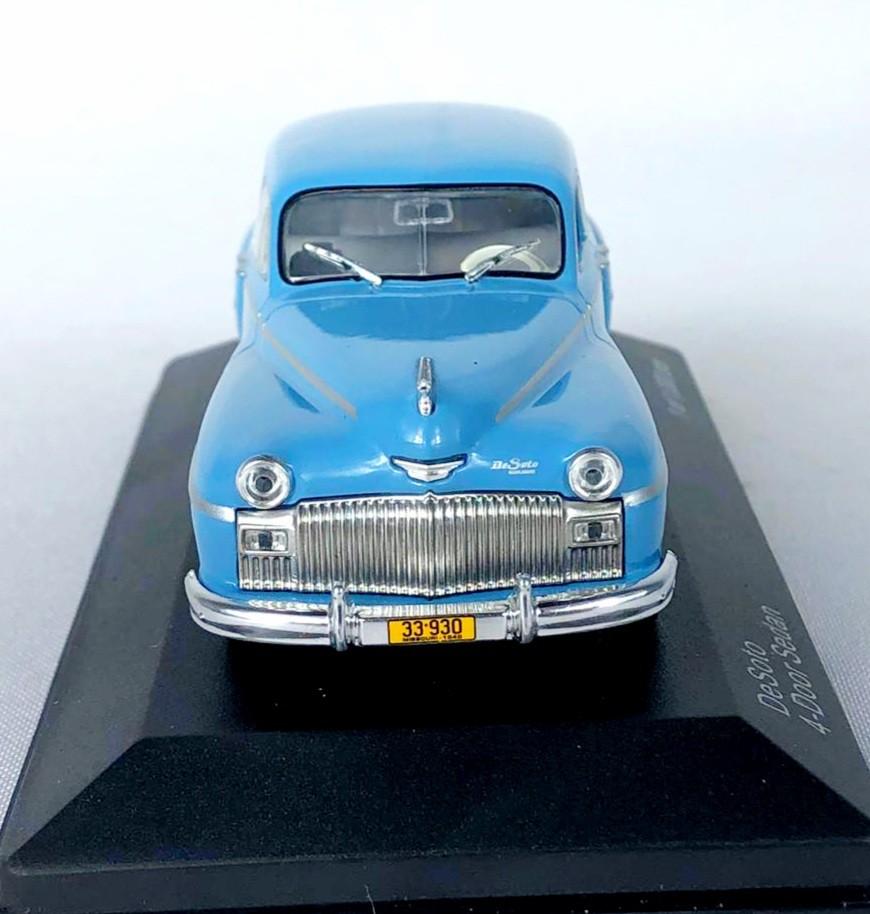 Miniatura Desoto 4 Door Sedan 1/43 Whitebox