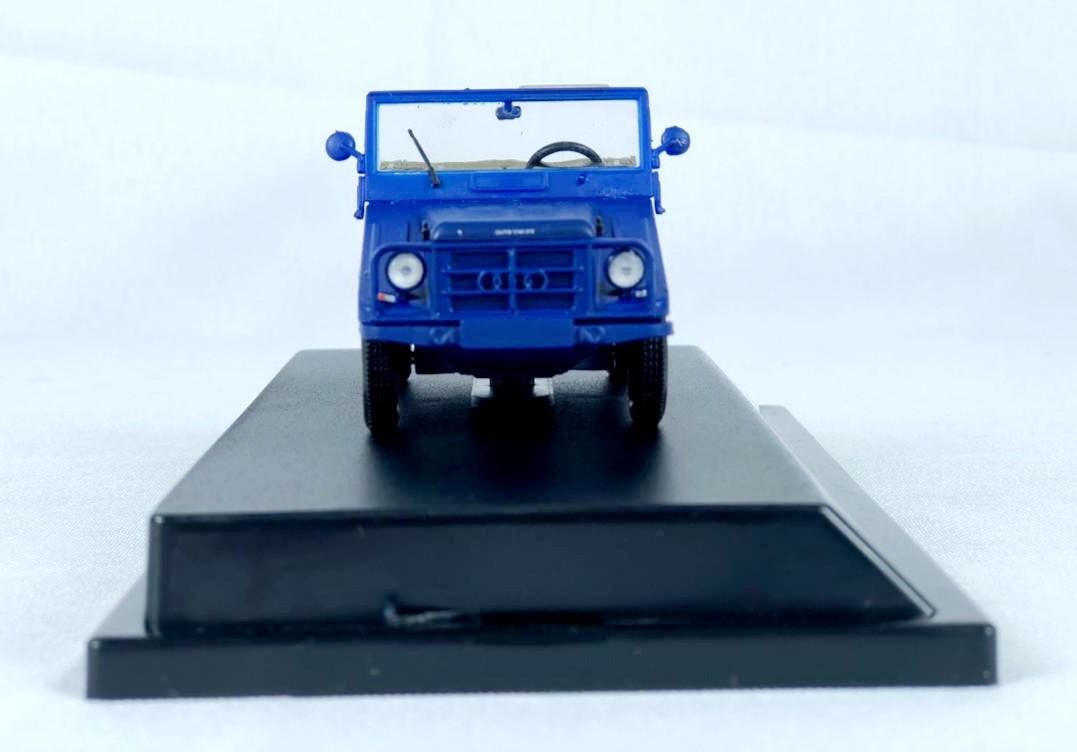 Miniatura DKW Munga Azul Sem Capota 1/43 Starline