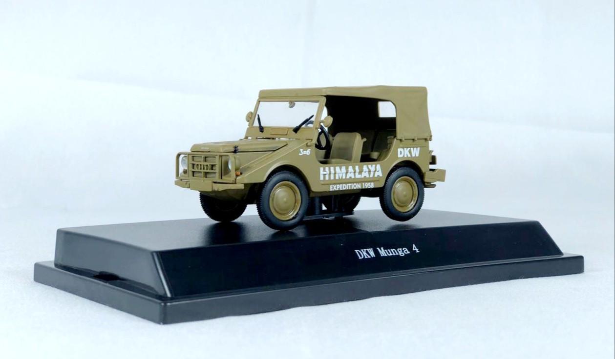 Miniatura DKW Munga Himalaya 1/43 Starline
