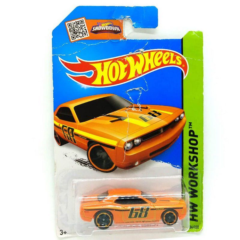 Miniatura Dodge Challenger Concept 1/64 Hot Wheels