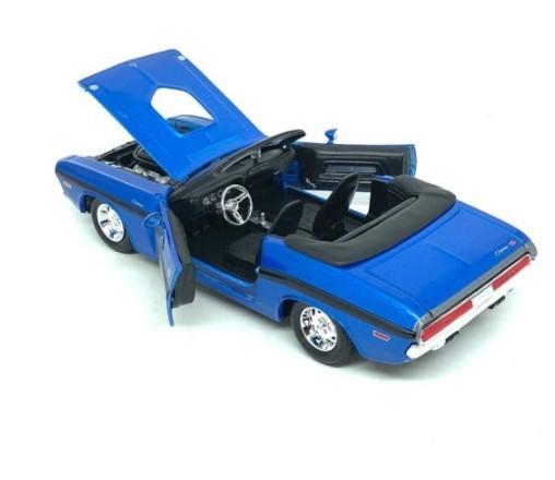 Miniatura Dodge Challenger RT 1970 Conversível 1/24 Maisto