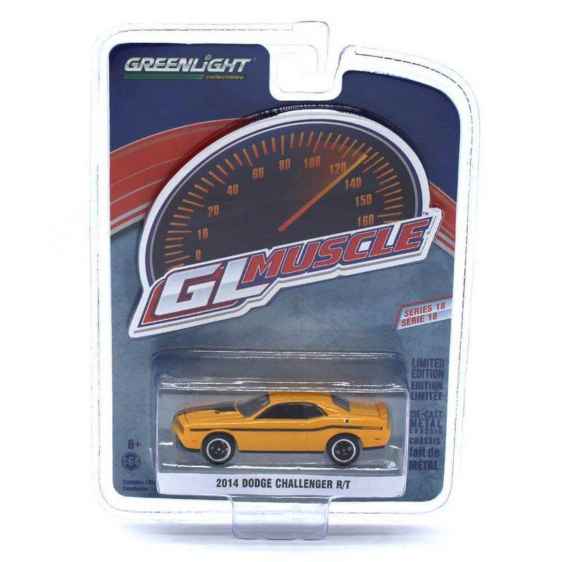 Miniatura Dodge Challenger RT 2014 GL Muscle Serie 18 1/64 Greenlight