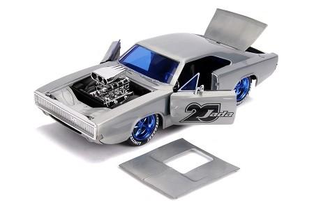 Miniatura Dodge Charger 1970 20 Anos Velozes e Furiosos 1/24 Jada Toys