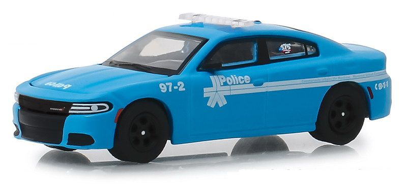 Miniatura Dodge Charger Montreal Canada Police 2018 1/64 Greenlight