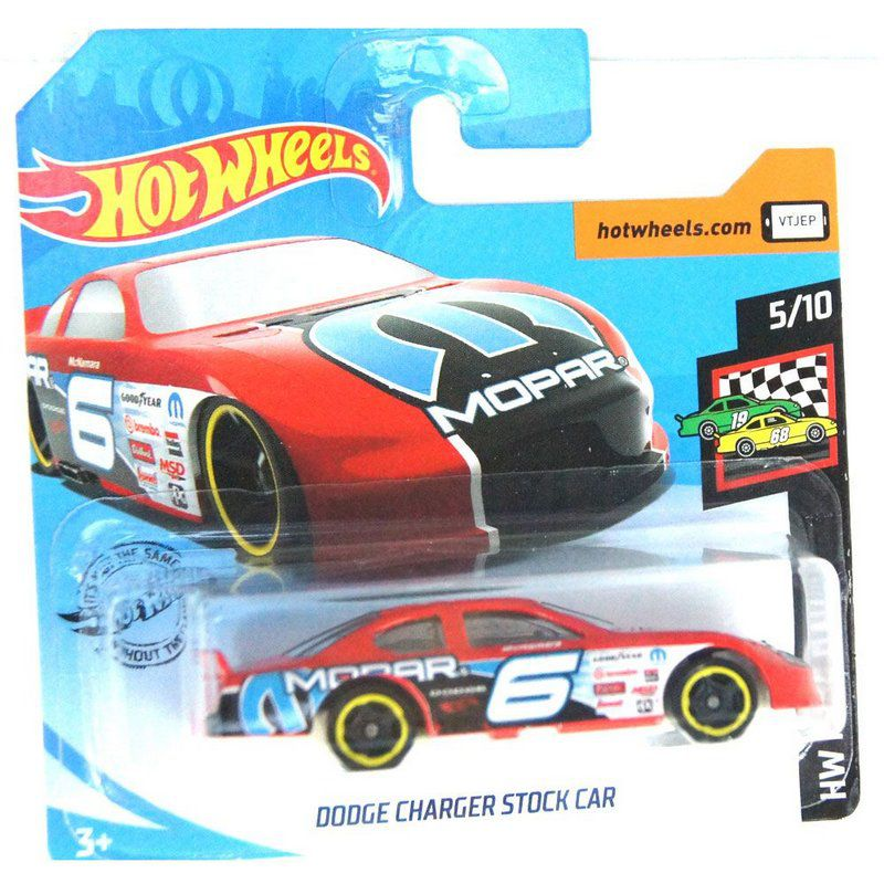 Miniatura Dodge Charger Stock Car HW Race Day 164 Hot Wheels