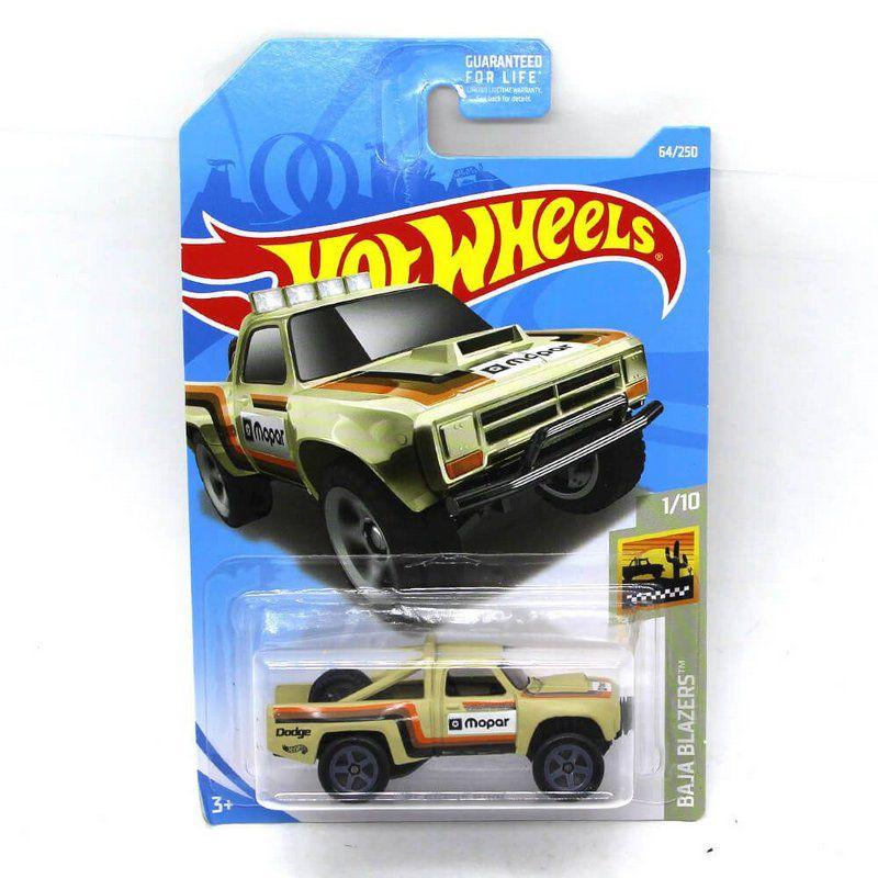 Miniatura Dodge D100 1987 1/64 Hot Wheels Baja Blazers