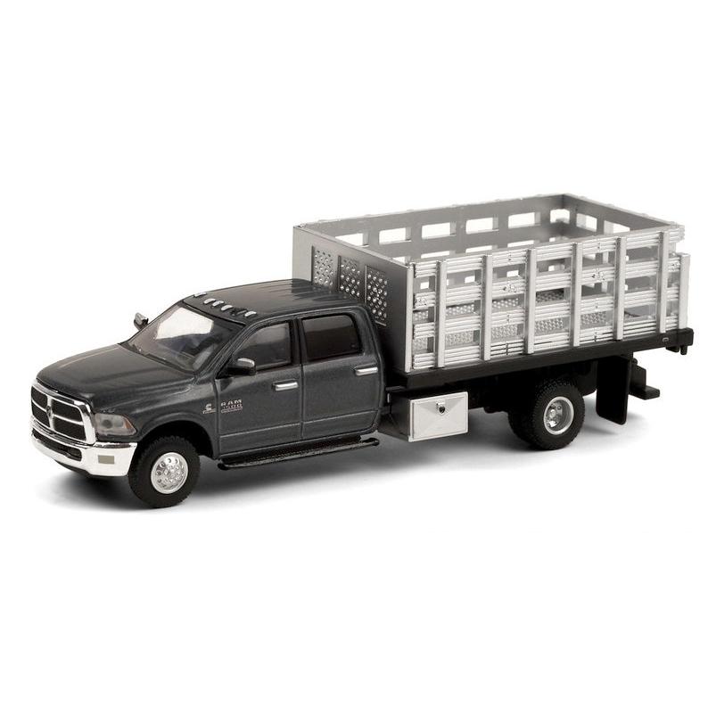 Miniatura Dodge Ram 2018 Stake Truck 1/64 Greenlight
