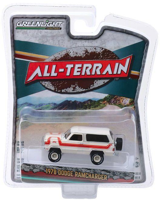 Miniatura Dodge Ramcharger 1978 All Terrain 1/64 Greenlight