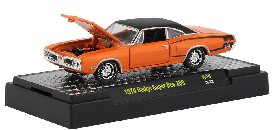 Miniatura Dodge Super Bee 383 1970 1/64 M2