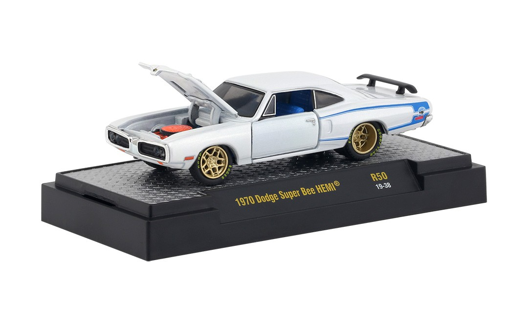Miniatura Dodge Super Bee HEMI 1970 1/64 M2