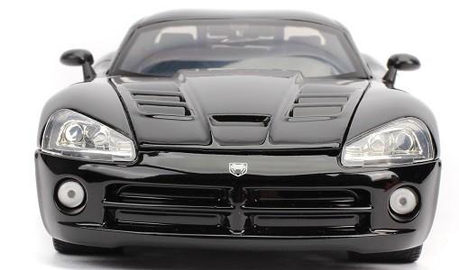 Miniatura Dodge Viper SRT 10 Letty Velozes e Furiosos 4 1/24 Jada