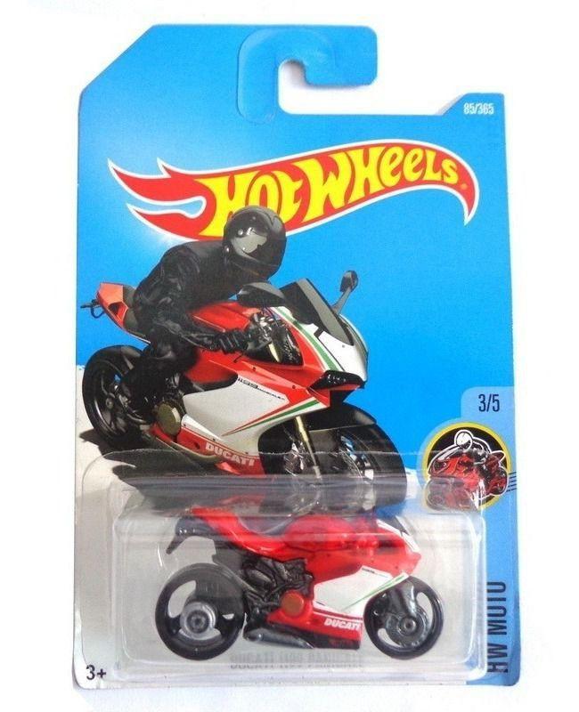 Miniatura Ducati 1199 Panigale 1/64 Hot Wheels