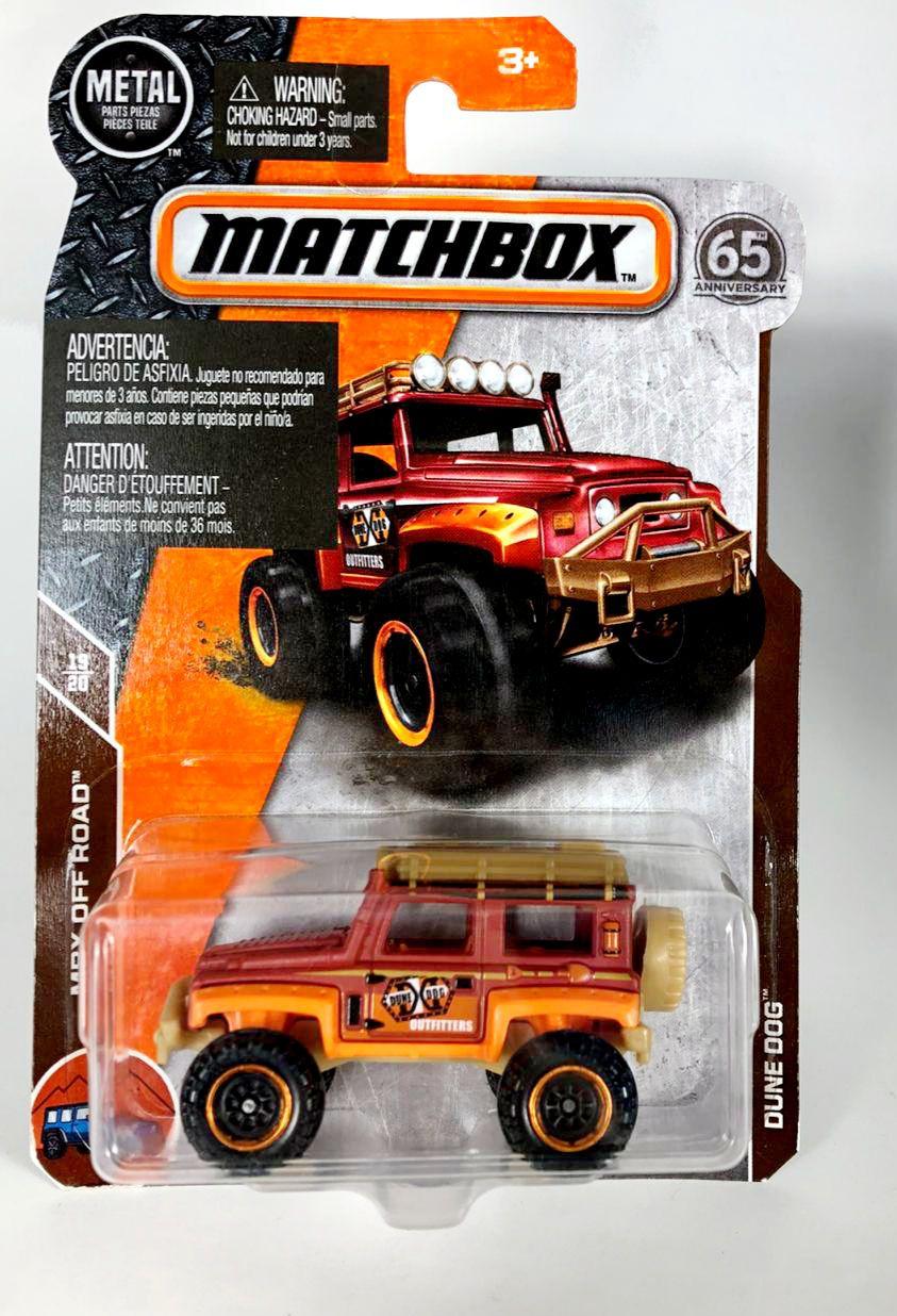 Miniatura Dune Dog 1/64 Matchbox