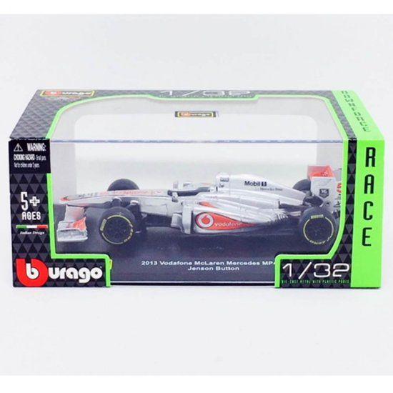Miniatura F1 Mclaren Mercedes Mp4 28 2013 J. Button 1/32 Bburago