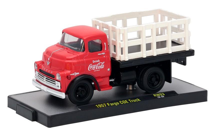 Miniatura Fargo COE 1957 Coca Cola Vermelho 1/64 M2