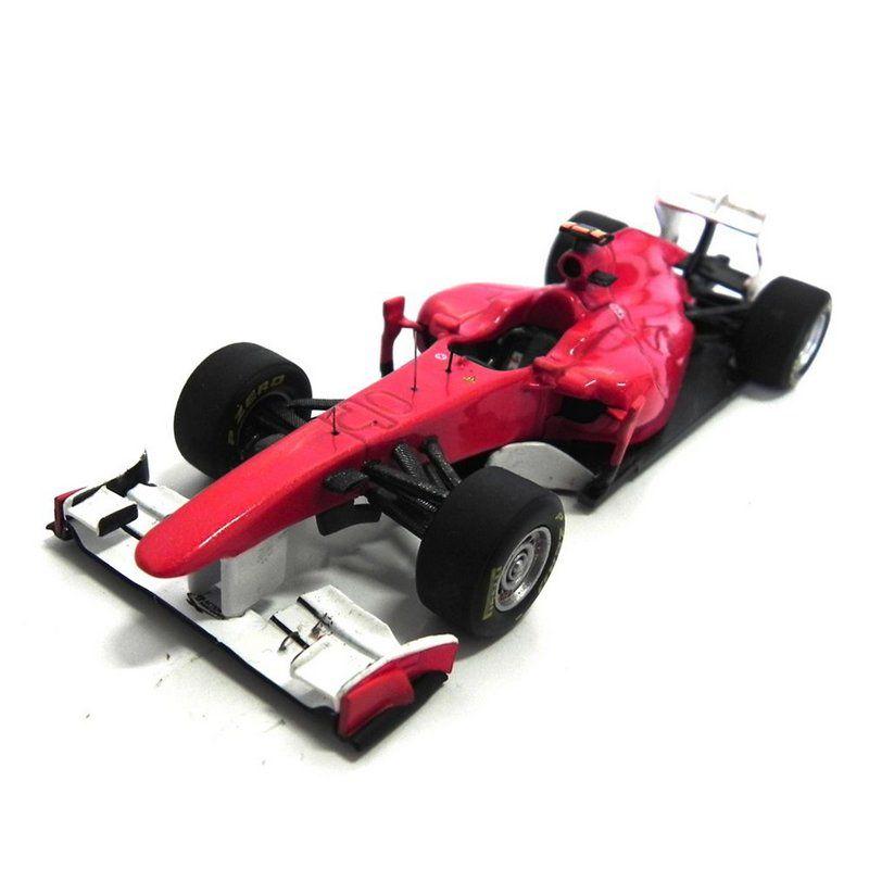 Miniatura Ferrari 150° Italia Fernando Alonso Turkish Gp 2011 Hot Wheels Elite 1:43