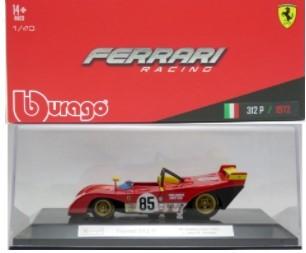 Miniatura Ferrari 312 9 1972 Racing 1/43 Bburago