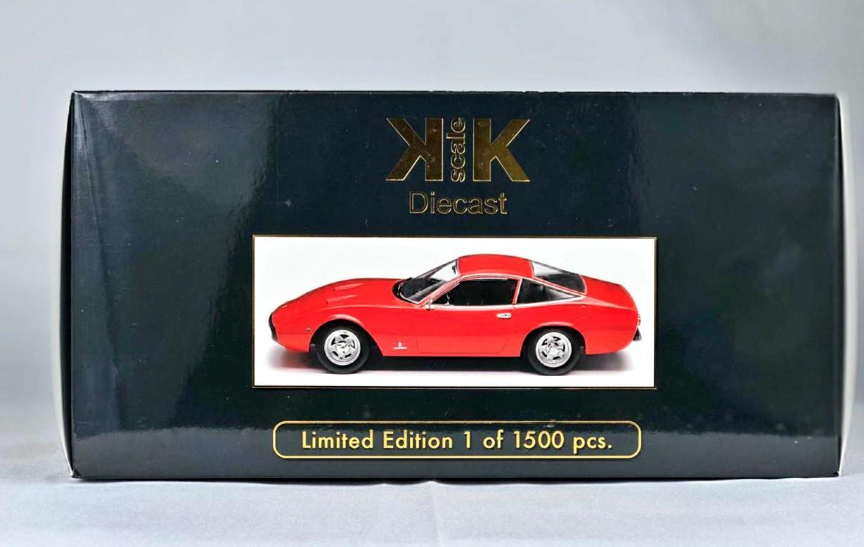 Miniatura Ferrari 365 GTC4 1/18 KK Scale