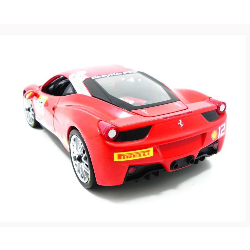 Miniatura Ferrari 458 Challenge Red 1/18 Hot Wheels