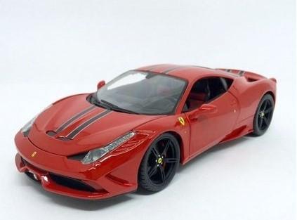 Miniatura Ferrari 458 Speciale 1/18 1/18 Bburago
