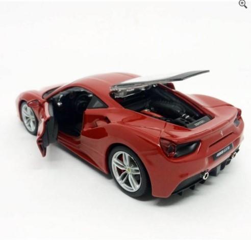 Miniatura Ferrari 488 GTB Race & Play 1/24 Bburago