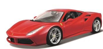 Miniatura Ferrari 488 GTB Race Play 1/18 Bburago