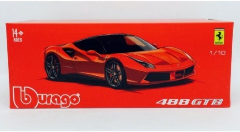 Miniatura Ferrari 488 GTB Signature Models 1/18 Bburago