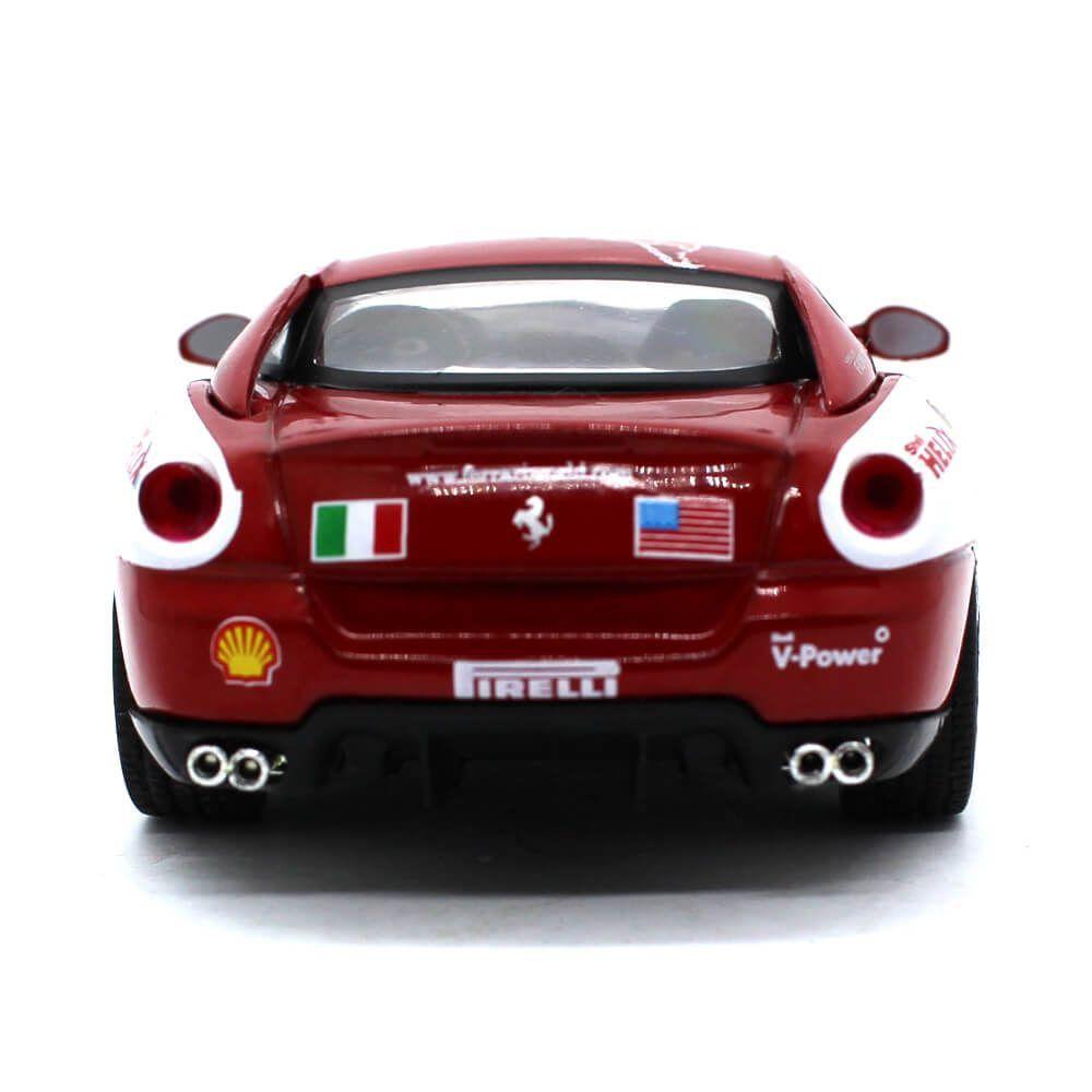Miniatura Ferrari 599 GTB Fiorano Panamerican Tour Ferrari Collection 1/43 Ixo