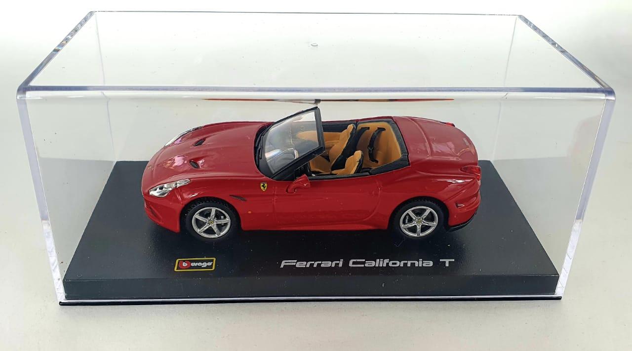 Miniatura Ferrari California T Open Signature Series 1/43 Bburago