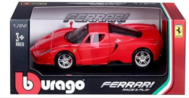 Miniatura Ferrari Enzo Race & Play 1/24 Bburago