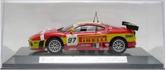 Miniatura Ferrari F430 GTC 2008 Racing 1/43 Bburago