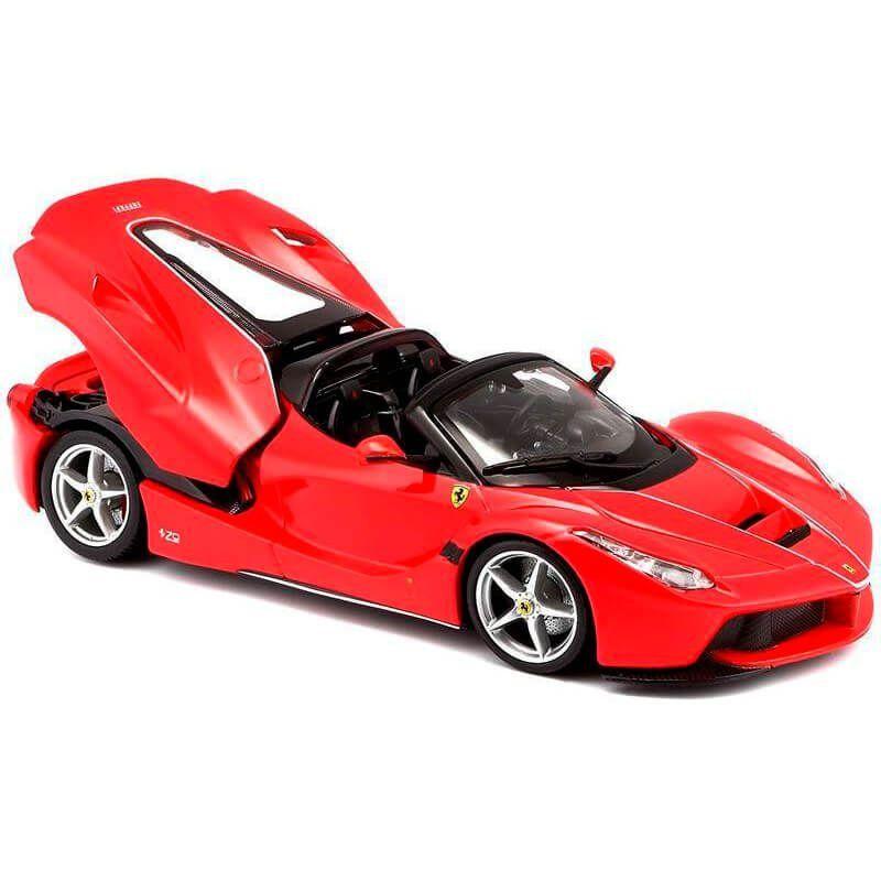 Miniatura Ferrari Laferrari F70 2013 Aberta Vermelha 1/24 Bburago Race & Play