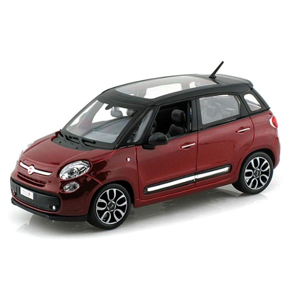Miniatura Fiat 500 2013 1/24 Bburago