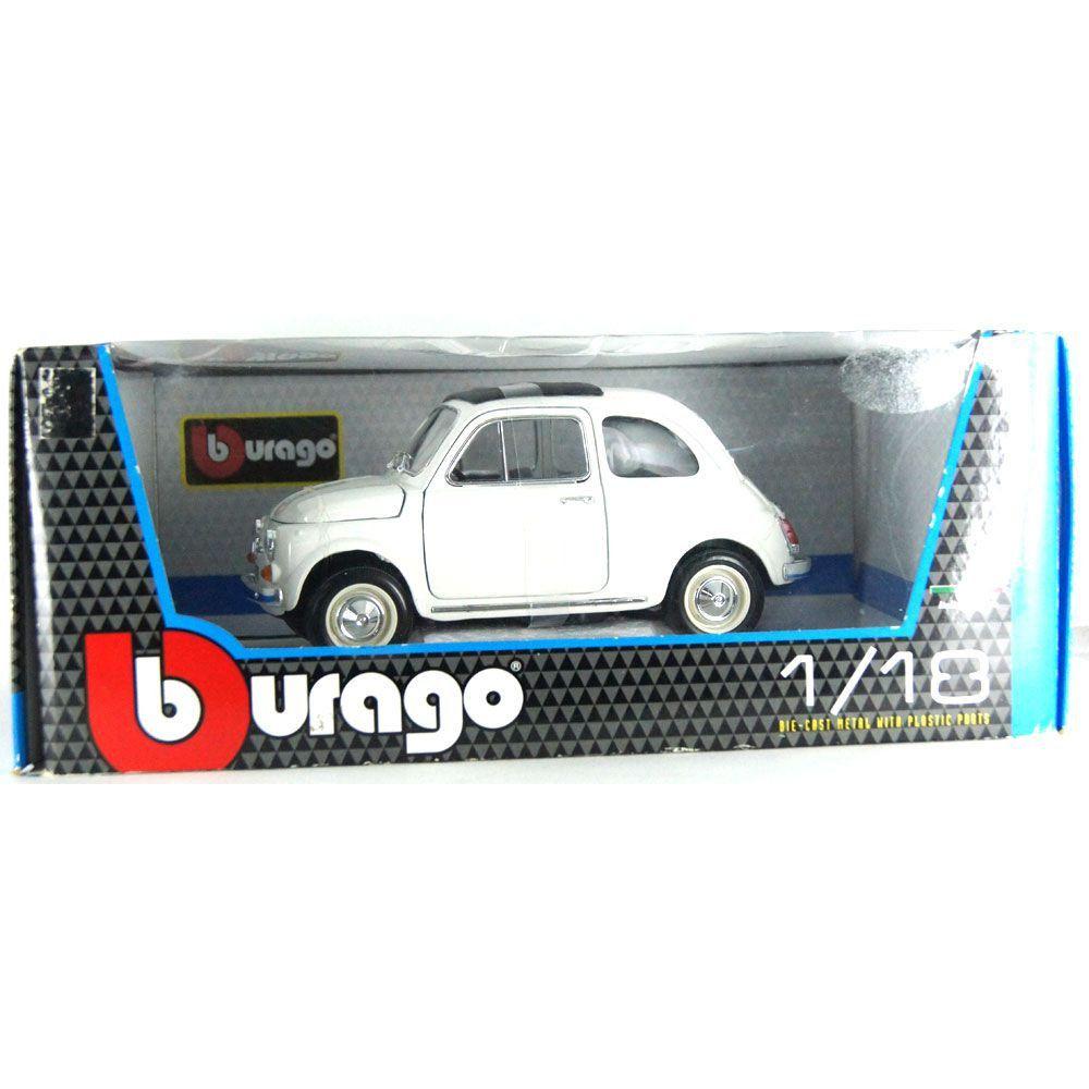 Miniatura Fiat 500 F 1965 1/18 BBurago