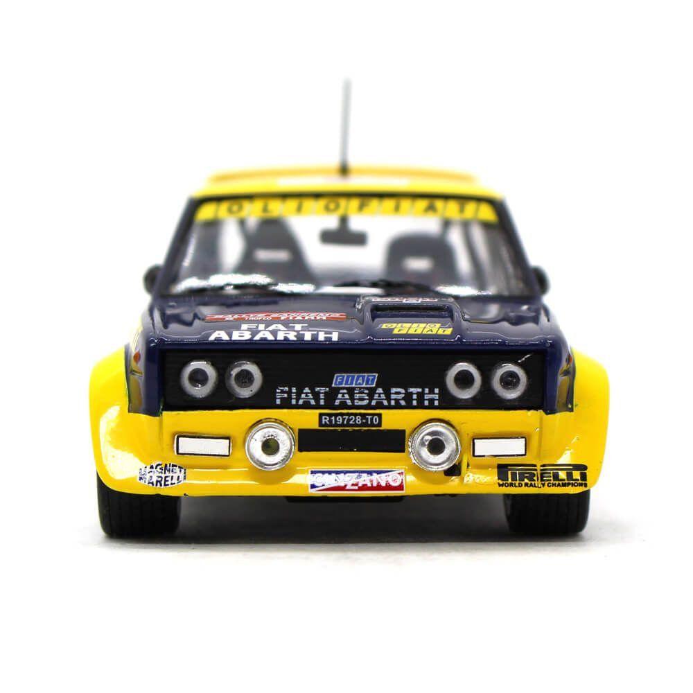 Miniatura Fiat Abarth 131 N 5 Rally Sanremo 1977 Walter Röhrl e Willi-Peter Pitz 1/43 Ixo
