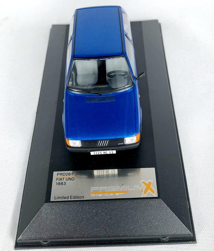 Miniatura Fiat Uno 1983 1/43 Premium X