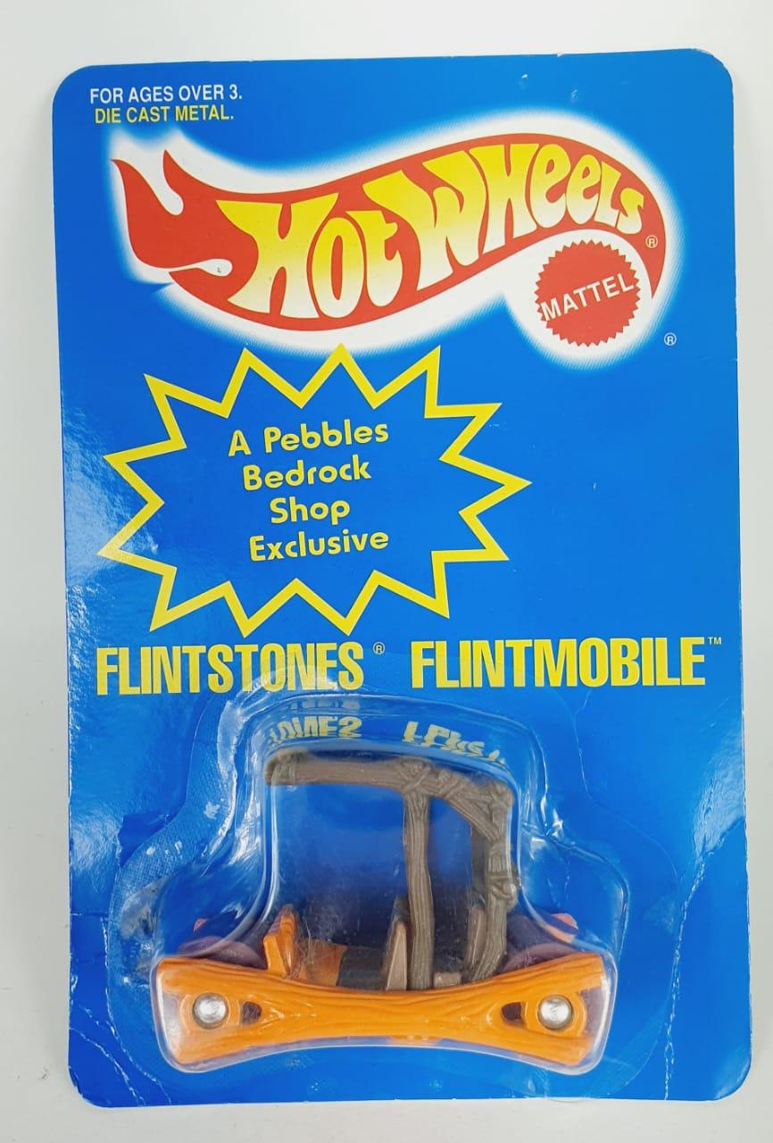 Miniatura Flintstones Flintmobile 1/64 Hot Wheels