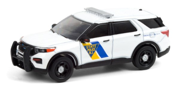 Miniatura Ford 2021 Police Anniversary Collection 1/64 Greenlight
