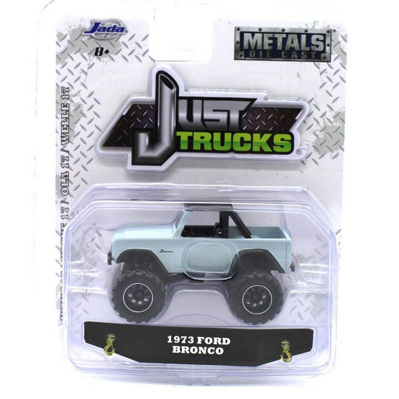 Miniatura Ford Bronco 1973 Just Trucks 17 1/64 Jada Toys