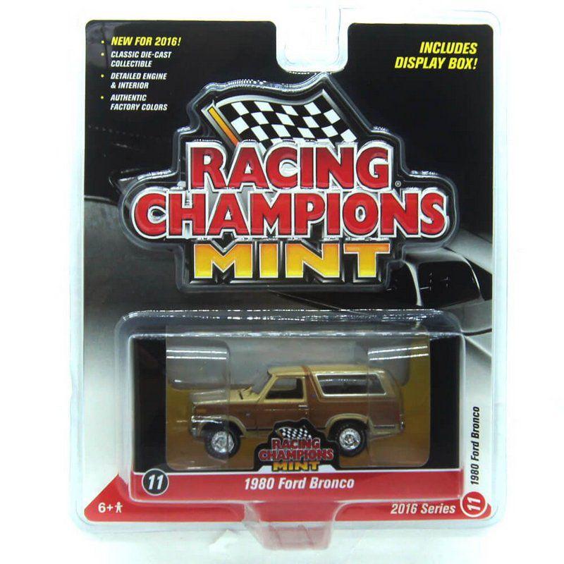 Miniatura Ford Bronco 1980 1/64 Racing Champions