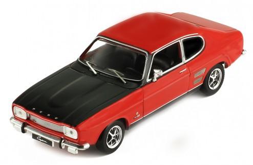 Miniatura Ford Capri 1700 GT 1970 1/43 Ixo