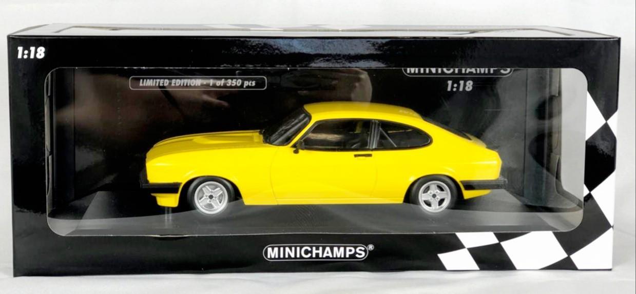 Miniatura Ford Capri 3.0 1978 1/18 Minichamps